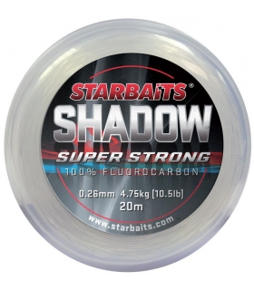 STARBAITS SHADOW 100% FLUOROCARBON 0.60 MM 50 LB 15 METROS