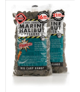 DYNAMITE CARP MARINE HALIBUT PELLETS 21MM