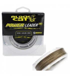 BLACK CAT BAJO POWER LEADER 1MM 80 KG