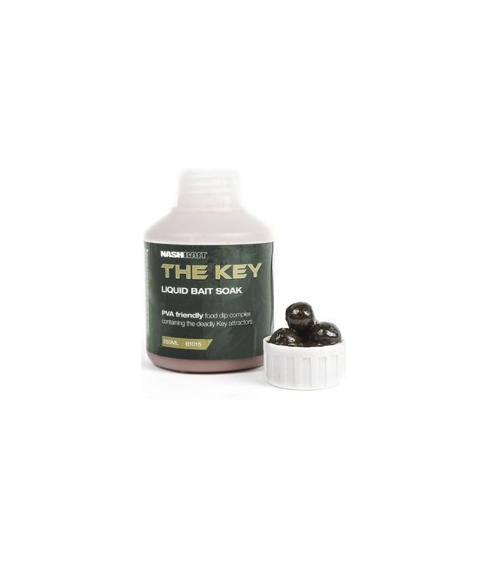 NASH THE KEY LIQUID BAIT SOAK 250ml