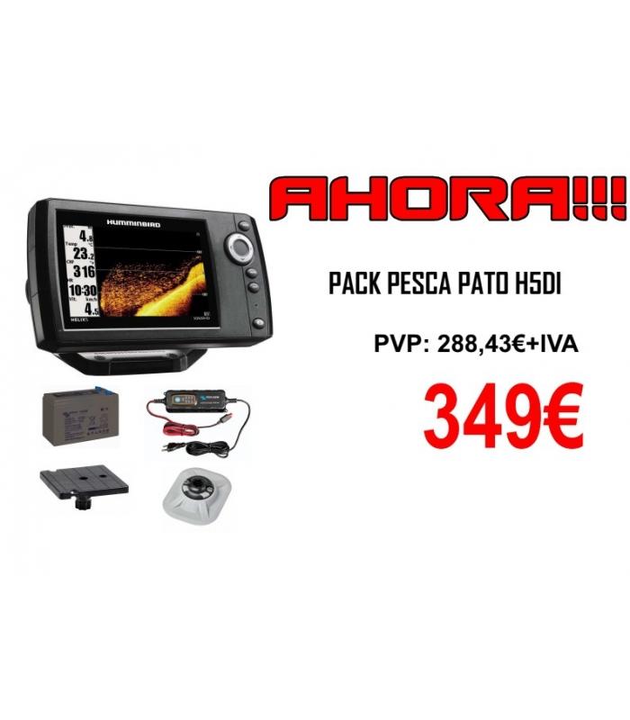 HUMMIMBIRD PACK PATO PIRANHA MAX 4