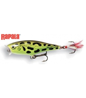 RAPALA SKITTER POP TOP WATER SP-7 LIVE LEOPARD FROG