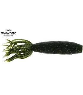 GARY YAMAMOTO FAT IKA 4'' W / SM GOLD LG BLACK