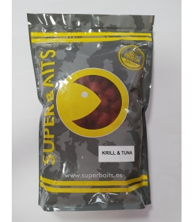 SUPER BAITS KRILL & TUNA PELLET 20MM