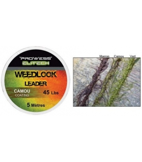 PROWESS ELITECH WEEDLOOK LEADER CAMOU 45LBS 5M