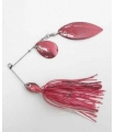 HART SPINNER BAIT KOMPAKT RED WHITE 1/4OZ-C