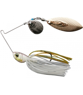 OSP HIGHPITCHER DOUBLE WILLOW PEARL SHAD 3/8OZ