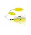 MOLIX FS SPINNERBAIT DOUBLE WILLOW NEON CHARMER 1/2OZ