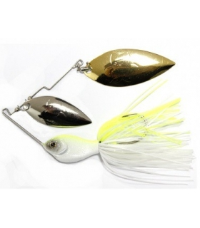 DETOUR FLAT SHOOT DOBLE WILLOW SPINNERBAIT HOT SHAD 1/2OZ