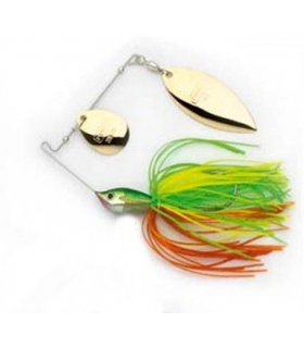 HART SUNDANCER SPINNERBAIT WATERMELON GREEN 3/8OZ