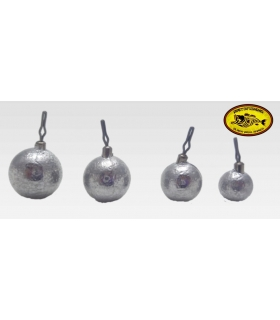 BAITFISHING PLOMO DROP SHOT WEIGHT BALL 1/2OZ 14GRS 9PK
