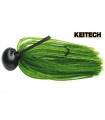 KEITECH RUBBER JIG MODEL II 3/8 WATERMELON PP 102