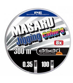 ASARI MASARU JIGGING COLORS 300M 0.60MM 280LBRS