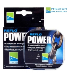 PRESTON INNOVATIONS POWER REFLO 0.10MM 1.205KG 100MTRS