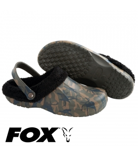 FOX CHUNK FLEECE LINED CLOGS CAMO/BLACK 41