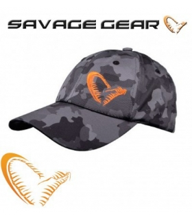 SAVAGE GEAR GORRA BLACK SAVAGE CAP