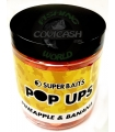 SUPER BAITS POP UPS PINNEAPLE & BANANA