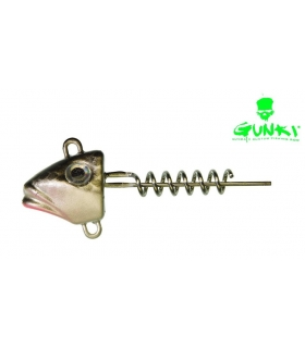 GUNKI G'FISH SCREW NATURAL BLACK 07 GRAMOS