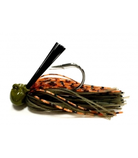 ALLIGATOR FOOTBALL JIG 1/2OZ PUMPKIN CRAW