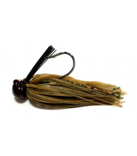 ALLIGATOR FOOTBALL JIG 1/2OZ GREEN PUMPKIN & PENAUT