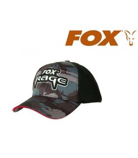 FOX RAGE CAMO TRUCKER CAP