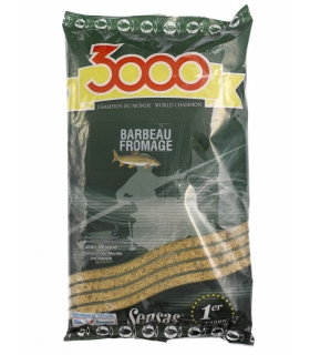SENSAS 3000 BARBEAU FROMAGE 1KG