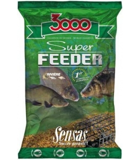SENSAS 3000 SUPER FEEDER CARPES 1KG