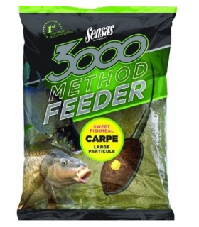 SENSAS 3000 METHOD FEEDER CARPE 1KG