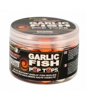 STARBAITS GARLIC FISH POP TOPS 14MM