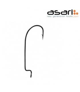 ASARI WORM HOOKS SIZE 2 PCS 10