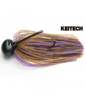 KEITECH RUBBER JIG MODEL II VER. 2.0 3/8 BROWN PURPLE 008