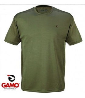 GAMO CAMISETA T-TECH VERDE BOSQUE TALLA XL