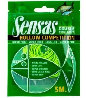 SENSAS HOLLOW COMPETITION 1.35MM VERT 5M