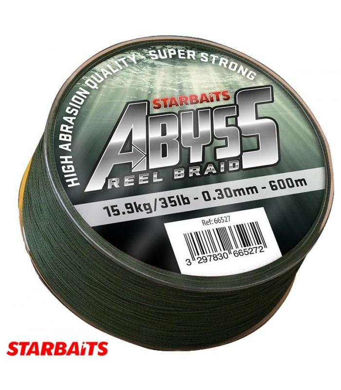 STARBAITS ABUSS REEL BRAID 0.25MM 30LBS 600M