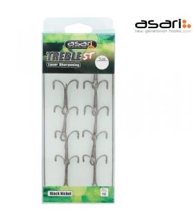 ASARI TREBLE ST SIZE 2/0 PCS 10