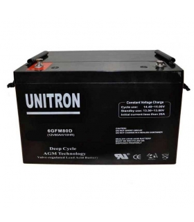 UNITRON AGM DEEP CYCLE 110 AH 12 V