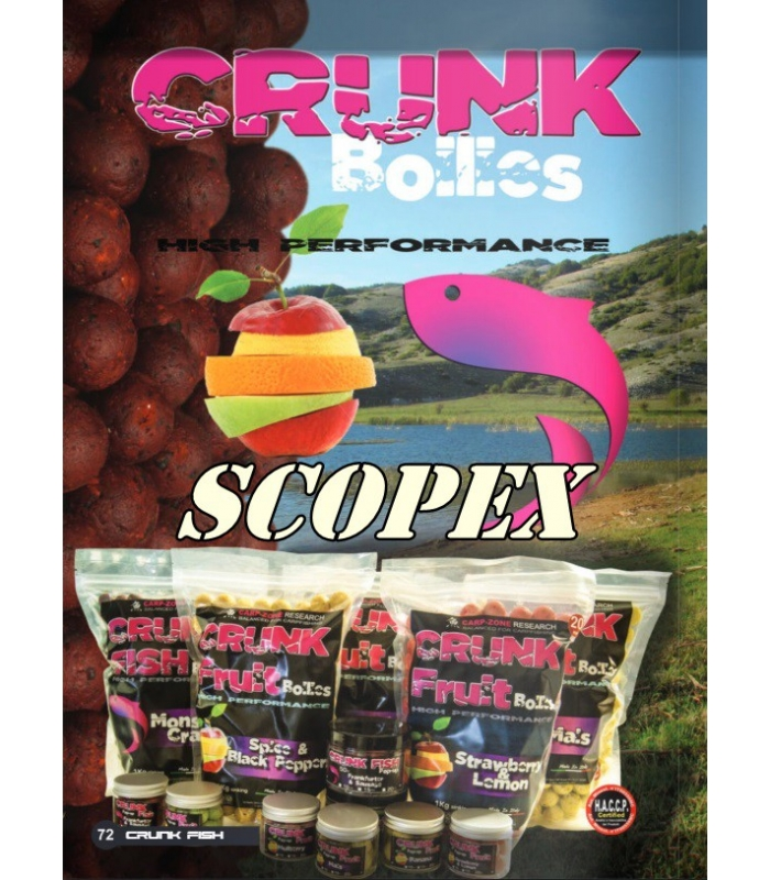 CARP-ZONE CRUNK FRUIT POP-UP SCOPEX 50GR