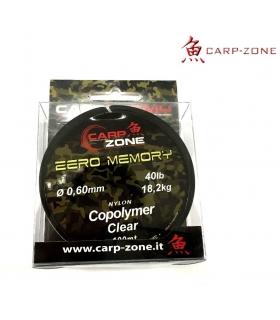 CARP-ZONE ZERO MEMORY 40 LB 0.60 MM