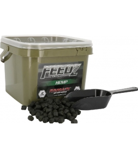 STARBAITS FEEDZ HEMP PELLETS 8MM 2KG