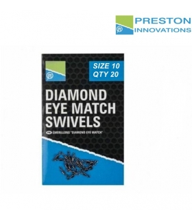 PRESTON INNOVATIONS DIAMOND EYE MATCH SIZE 10