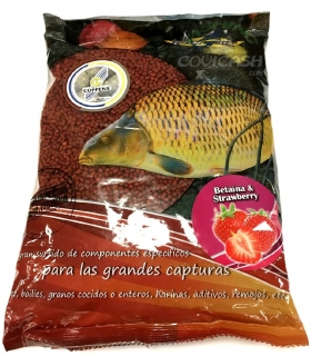 POISSON FENAG PELLETS BETAINA & STRAWBERRY 3MM 800GR