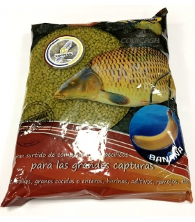 POISSON FENAG PELLETS BANANA 3MM 800GR