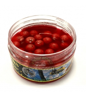 POISSON FENAG HOOK BOILIES LIQUID STRAWBERRY 8MM