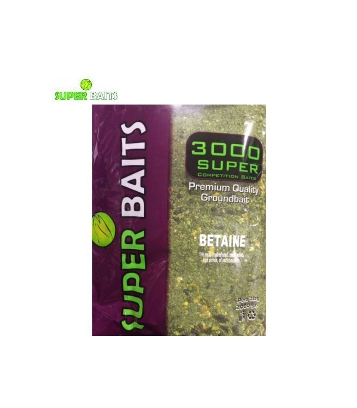 SUPER BAITS ENGODO SUPER 3000 BETAINE 2KG