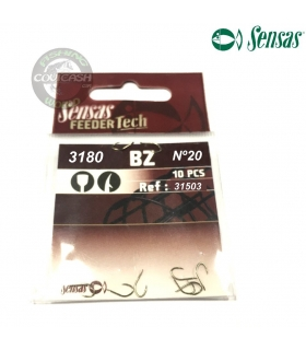 SENSAS FEEDER TECH 3180 BZ Nº20 10 PCS