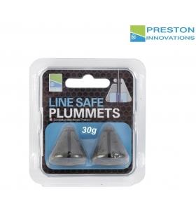 PRESTON LINE SAFE PLUMMETS 30 GRAMOS