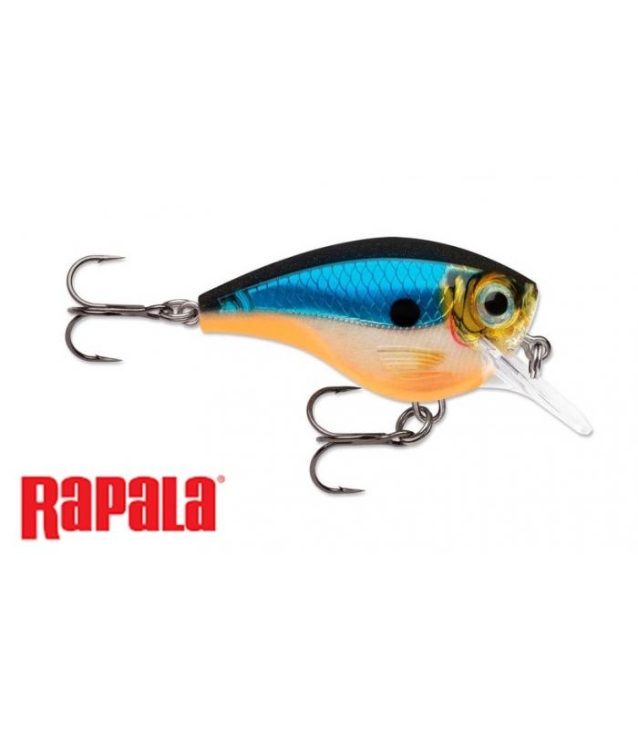RAPALA BX BRAT 6' DEPTH FLOATING BLUE GHOST