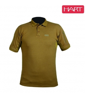 HART IVORY POLO SHIRT - C.BROWN TALLA L