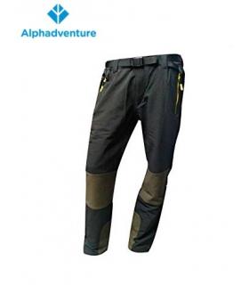 ALPHADVENTURE PANTALON IBOR TALLA XL BLACK/STONE