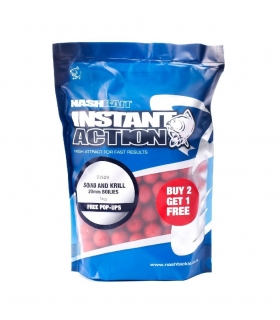 NASH INSTANT ACTION SQUIID AND KRILL 20MM 1KG